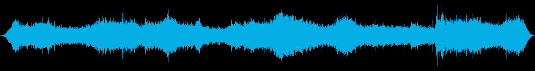 オーシャン:サーフカミングイン、ヘ...の再生済みの波形