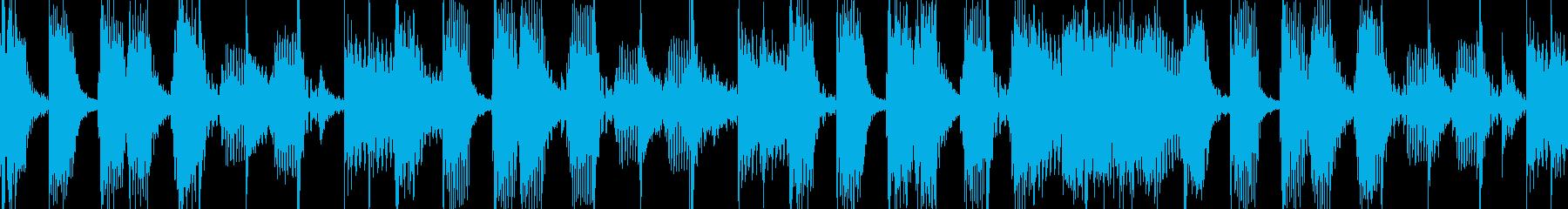 Brassメインのバンドサウンドの再生済みの波形