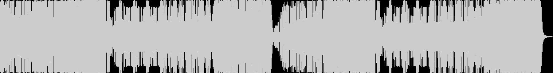 zeddのようなシンプルで乾いたEDMの未再生の波形