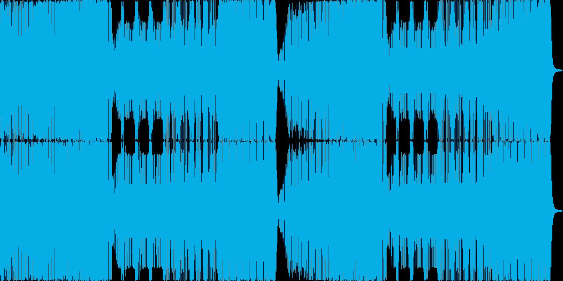zeddのようなシンプルで乾いたEDMの再生済みの波形