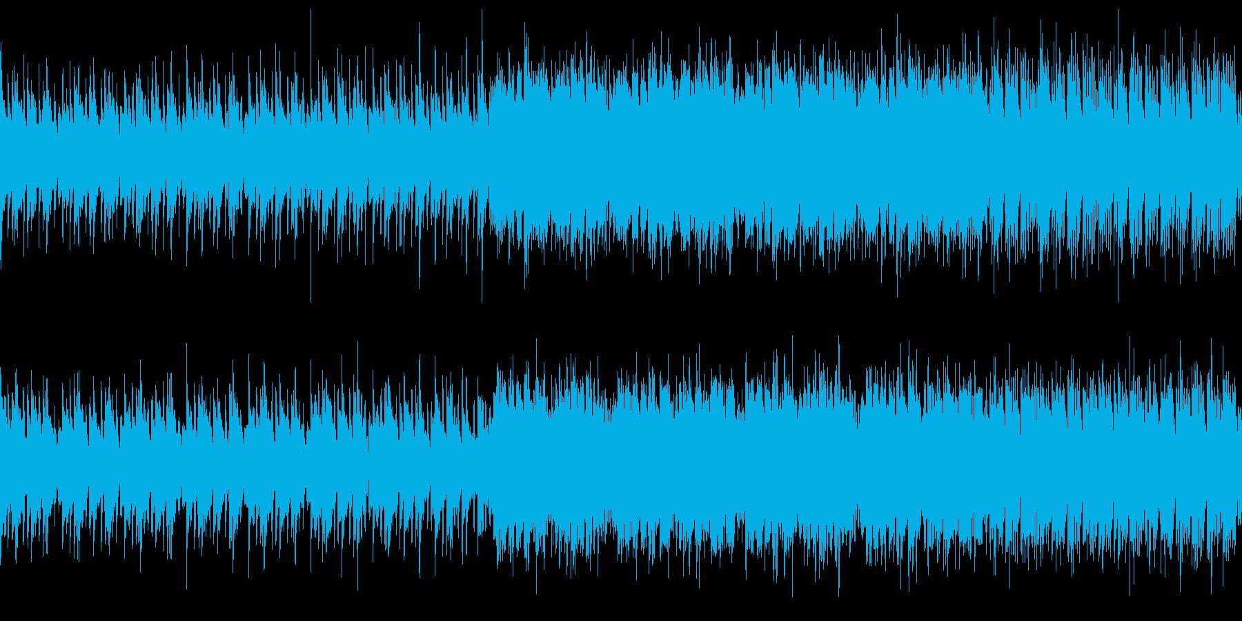 切なく優しい尺八の和風曲の再生済みの波形