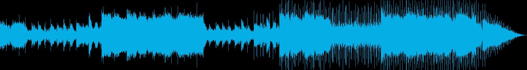 アンビエント/ポップス/バラードの再生済みの波形