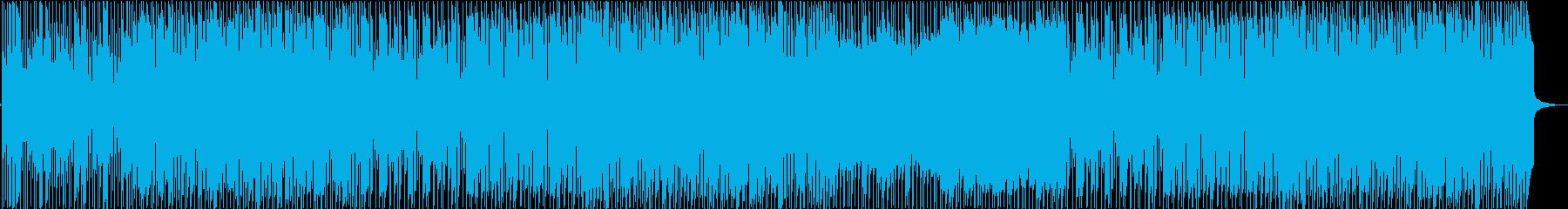 かっこいいギターロックBGM 生演奏!の再生済みの波形