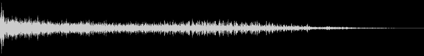 ホラー系アタック音20の未再生の波形