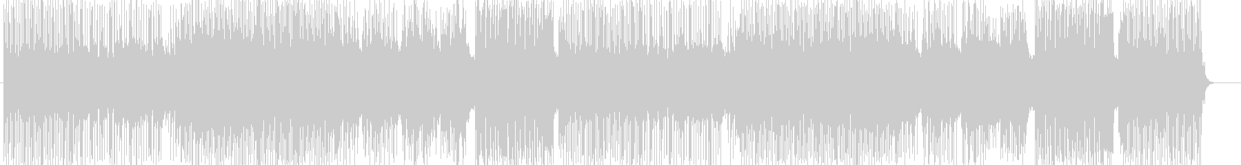 「HR/HM」「DARK」BGM264の未再生の波形