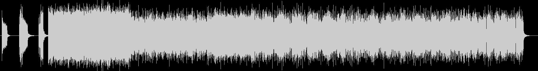DARK、重低音系のDEATH ROCKの未再生の波形