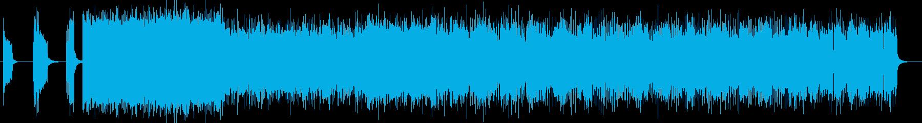 DARK、重低音系のDEATH ROCKの再生済みの波形