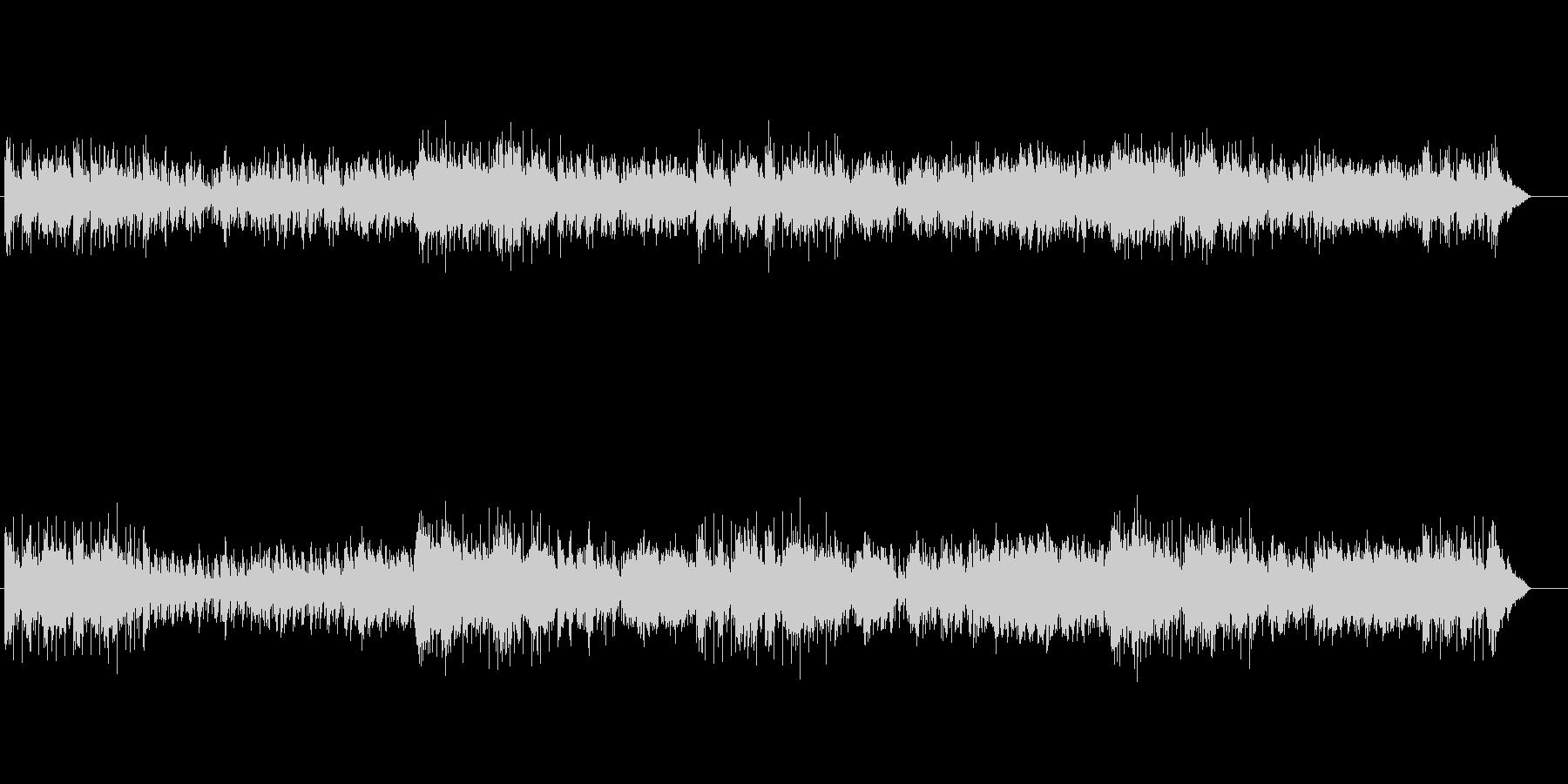ニューミュージック系なピアノ・メロディーの未再生の波形