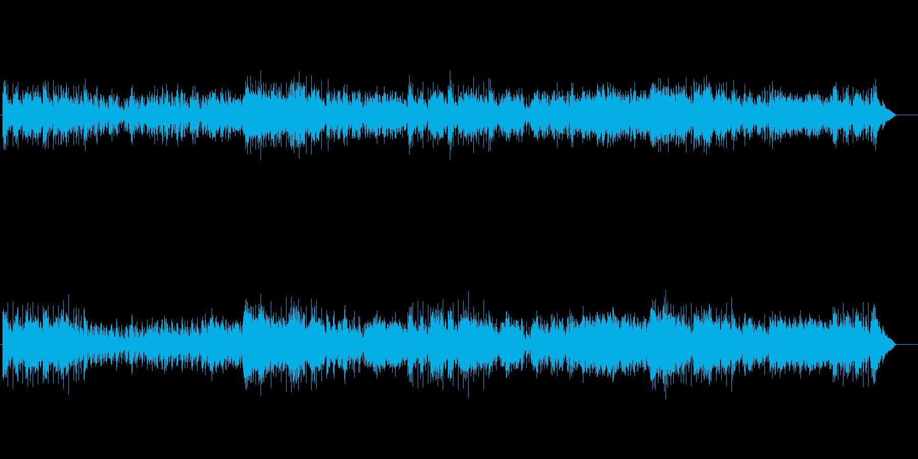 ニューミュージック系なピアノ・メロディーの再生済みの波形