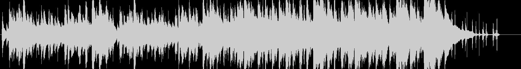 ジングル - のんびり牧歌的の未再生の波形