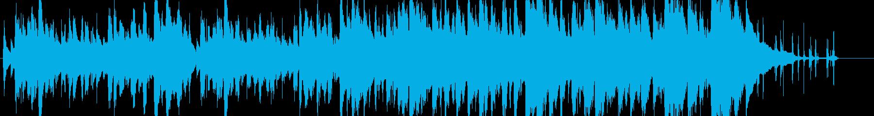 ジングル - のんびり牧歌的の再生済みの波形