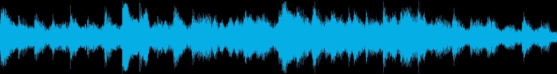 <ショートループ> ピアノ④+ビートCの再生済みの波形