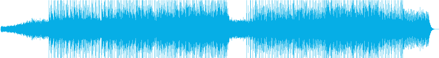 冷たく切なく幻想的なダウンテンポの再生済みの波形
