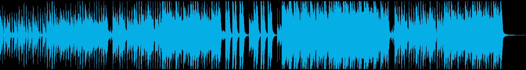 ほのぼの軽快なピアノのワルツの再生済みの波形