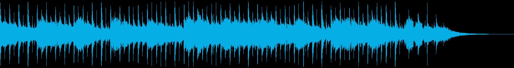 インタビュー(30秒)の再生済みの波形