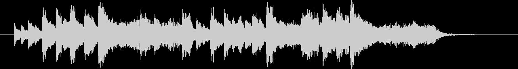 結婚式効果音_ブーケ02の未再生の波形
