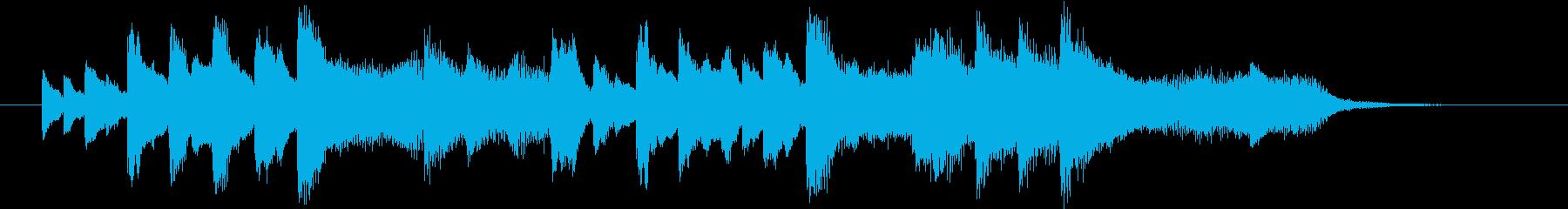 結婚式効果音_ブーケ02の再生済みの波形