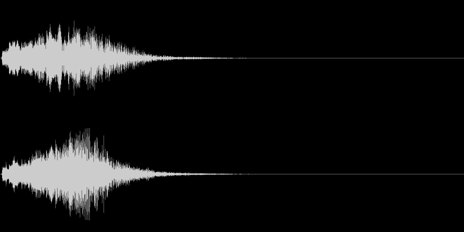 ハープ・下降_2-2の未再生の波形