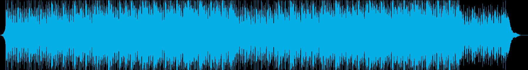 企業VPやCMに爽やか疾走感オープニングの再生済みの波形