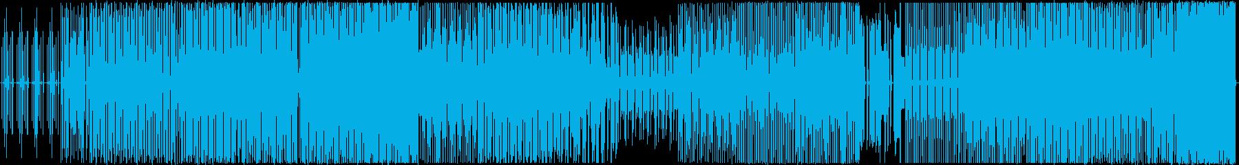 ダークで緊張感があり曲展開豊富なテクノの再生済みの波形