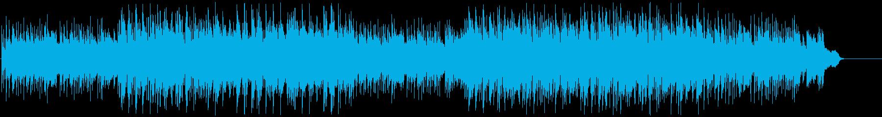 揚琴のメロディーが切なく美しい和風EDMの再生済みの波形