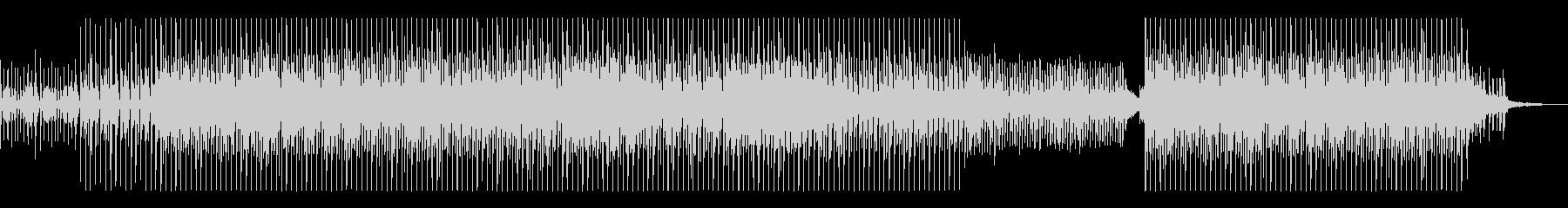 スピード感のあるトロピカルマリンバ元気曲の未再生の波形