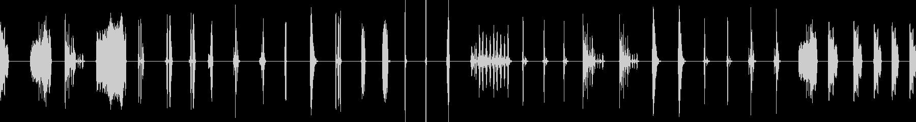 Squishy Gooeyコメディ効果の未再生の波形