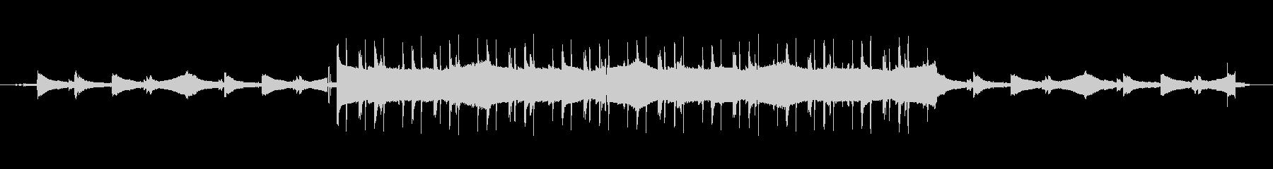 Lofiで落ち着くインストの未再生の波形