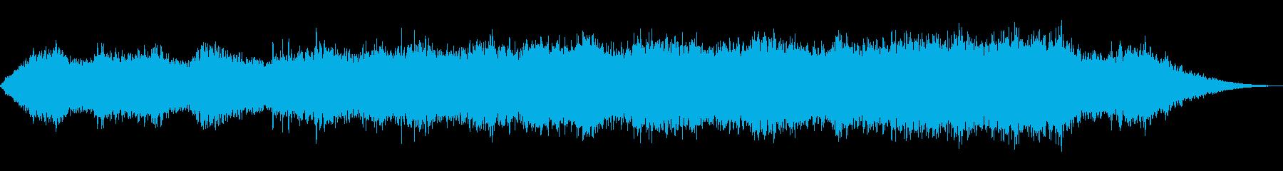 様々な情景を想起させる静かな音楽の再生済みの波形