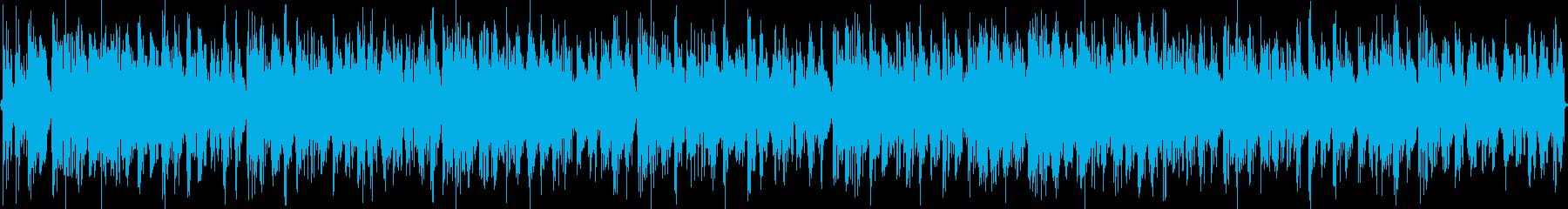 DJや店舗のBGMとして使えるような曲。の再生済みの波形