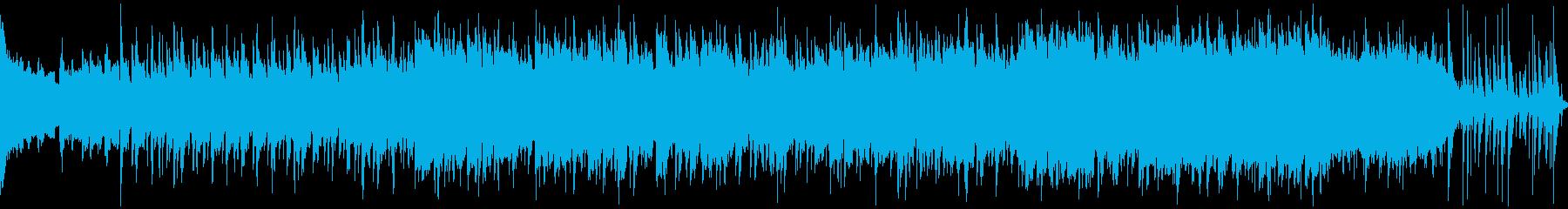 広大な大地を往くイメージの曲 ループの再生済みの波形