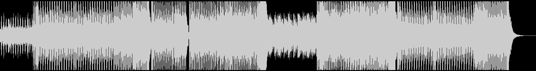 エレクトロなBGMです。の未再生の波形