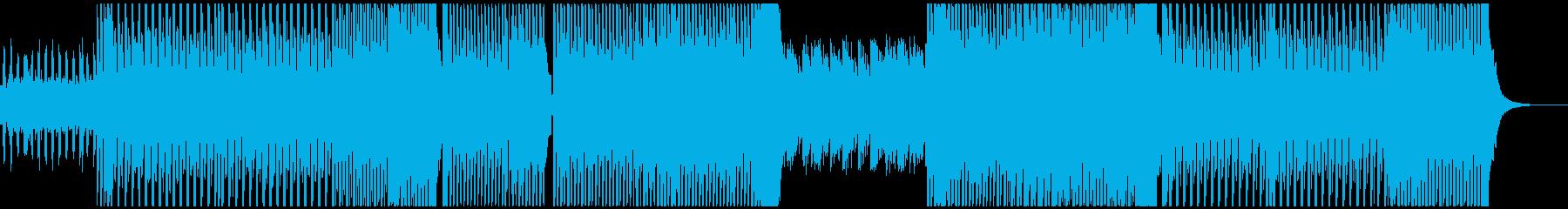 エレクトロなBGMです。の再生済みの波形