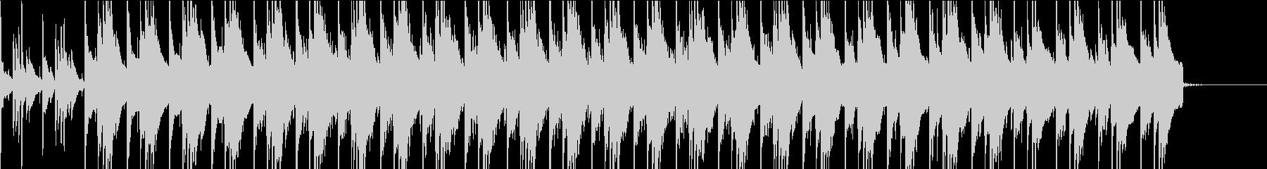 和楽器を使ったゆっくりリズムの未再生の波形