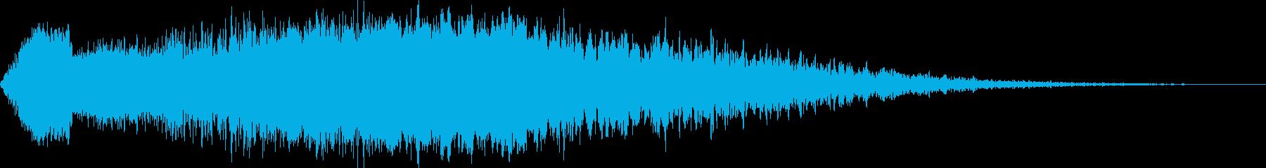【ホラーゲーム】 シーン 不穏な空気の再生済みの波形