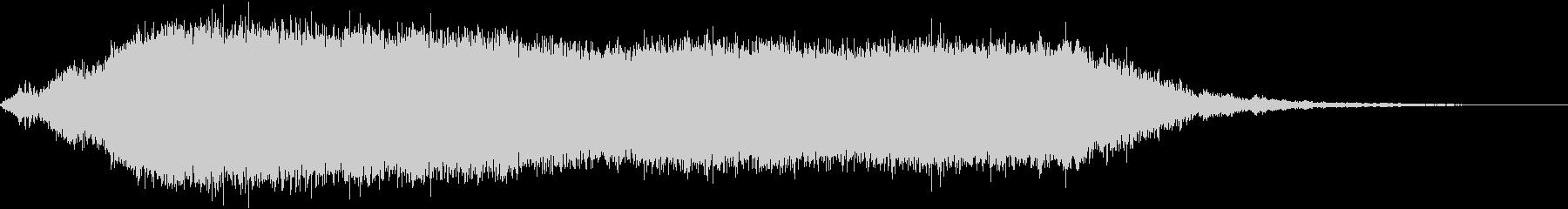KANT怪獣の鳴き声Long5の未再生の波形