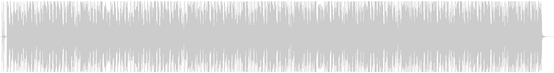 アーバンな4つ打ちボーイズK-POPの未再生の波形