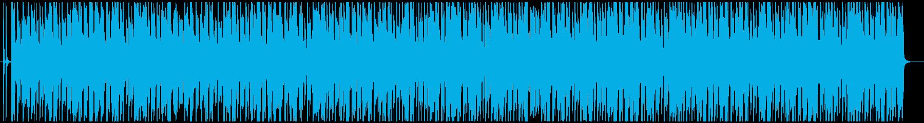 アーバンな4つ打ちボーイズK-POPの再生済みの波形