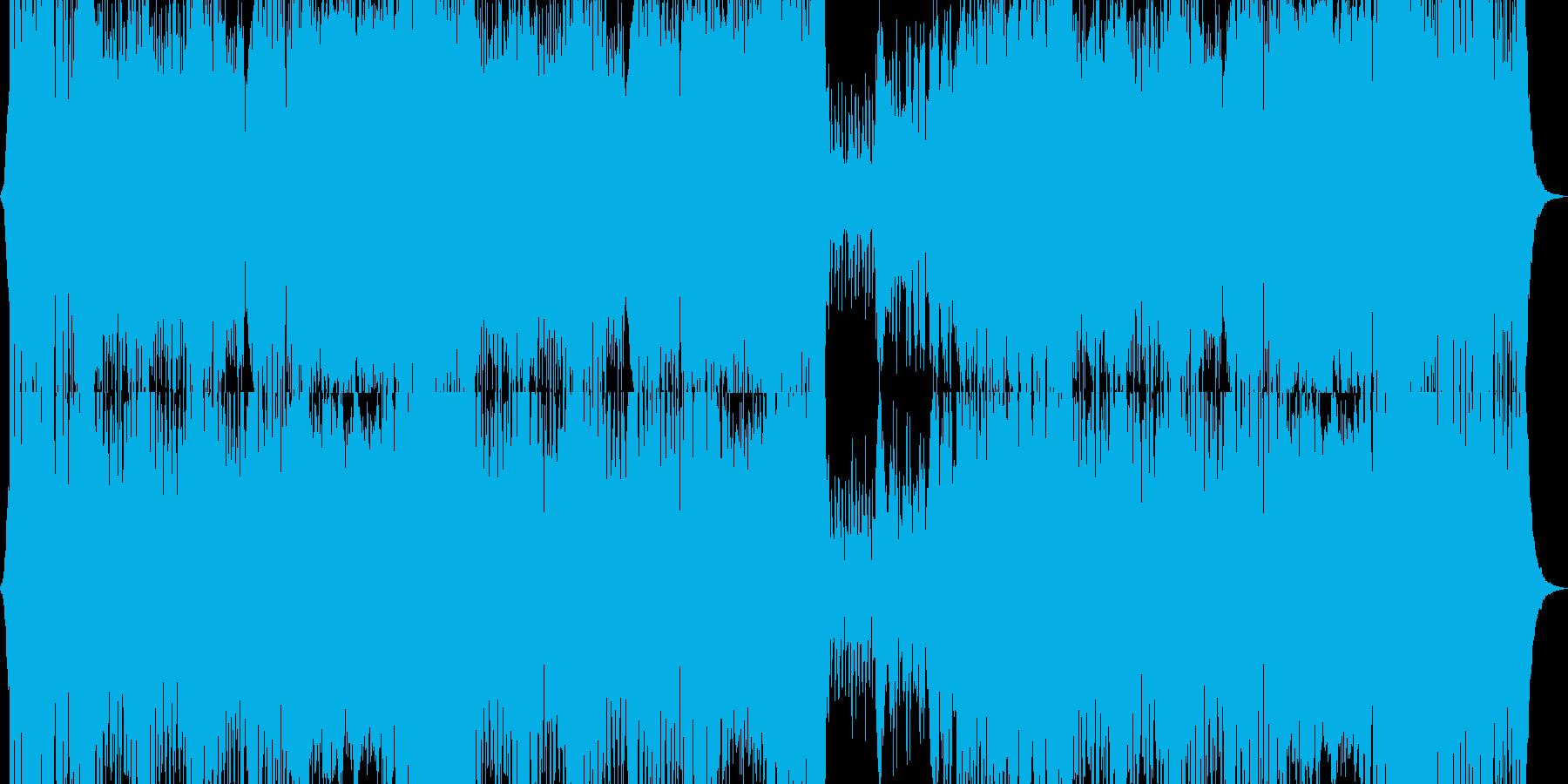オーケストラ、ファンタジー、ゲームの再生済みの波形