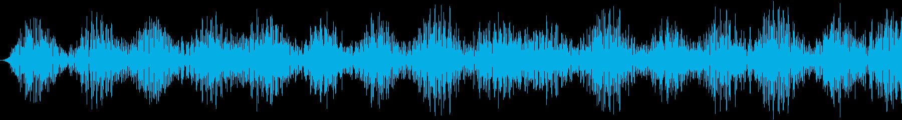 コンピューターデータまたはテレメト...の再生済みの波形