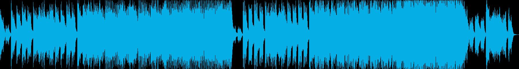 現代の交響曲 積極的 焦り 神経質...の再生済みの波形