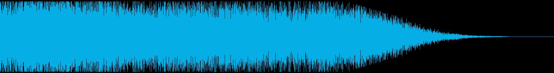 ジャーン(笑ってはいけないOUT風)3の再生済みの波形