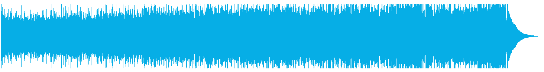 浮遊感と疾走感あるギターロック系インストの再生済みの波形