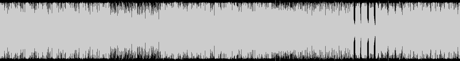 ゴリゴリのダークヒールロック ループ仕様の未再生の波形