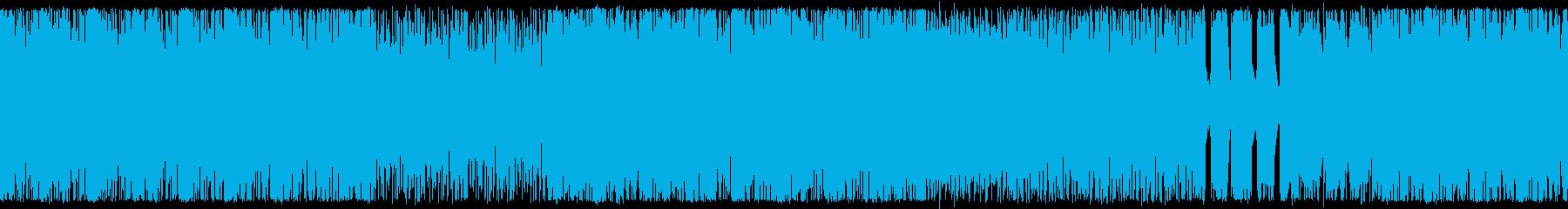 ゴリゴリのダークヒールロック ループ仕様の再生済みの波形
