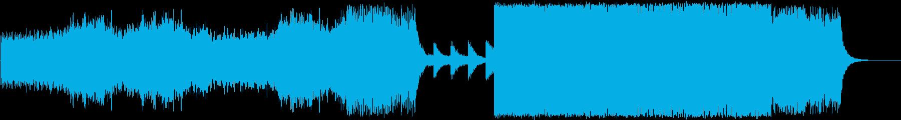 美しいドラムンベース/テクスチャーの再生済みの波形