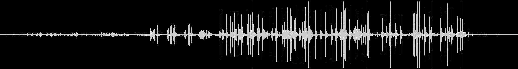 人質シーン:ラジオチャット、音声、...の未再生の波形