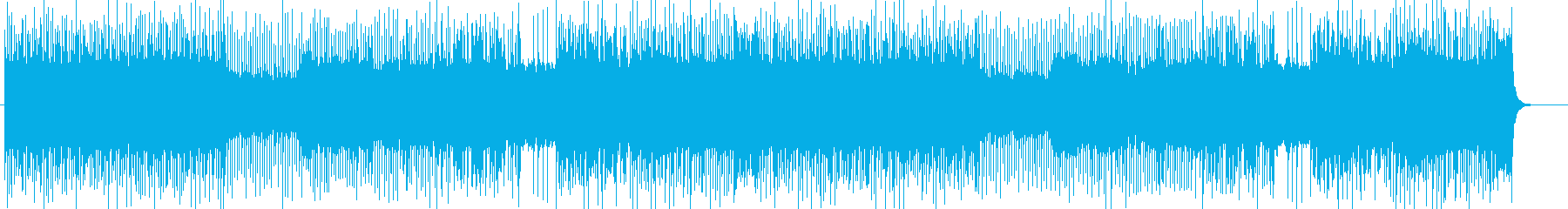 「HR/HM」「ROCK」BGM267の再生済みの波形