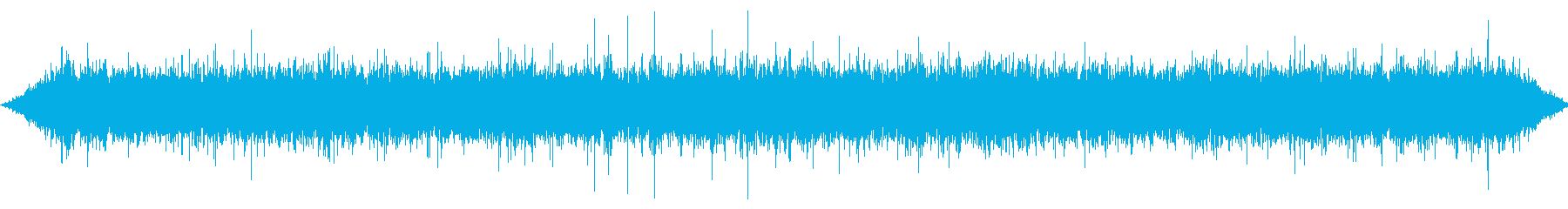 Small waterway waterfall's reproduced waveform