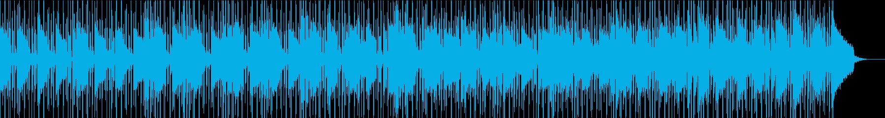 オシャレなCitypopの再生済みの波形